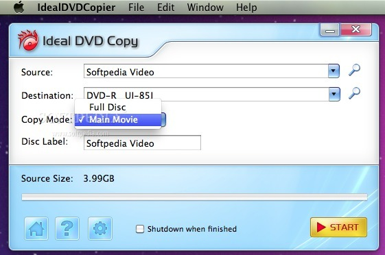 Ideal DVD Copy screenshot 1