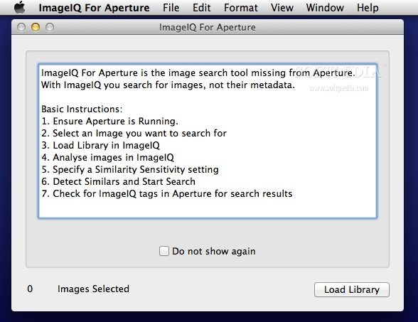 ImageIQ For Aperture screenshot 1