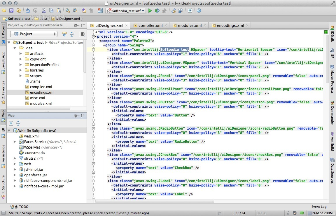 IntelliJ IDEA screenshot 1