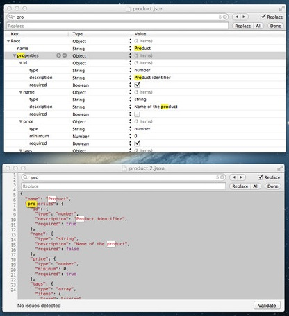 JSON Editor screenshot 3