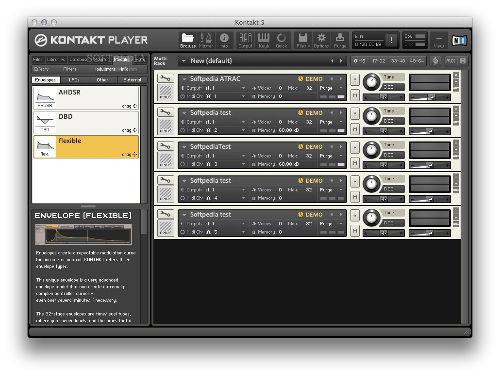 KONTAKT Player Mac 5 7 0 - Download