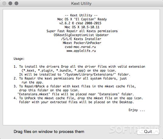 Kext Utility Mac 2 6 6 - Download