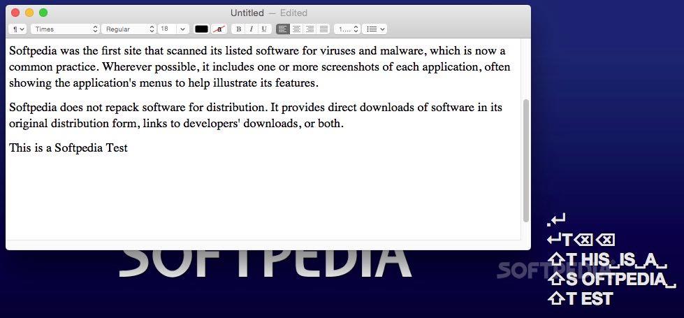 KeyCast Mac 1 1 Build 2 - Download