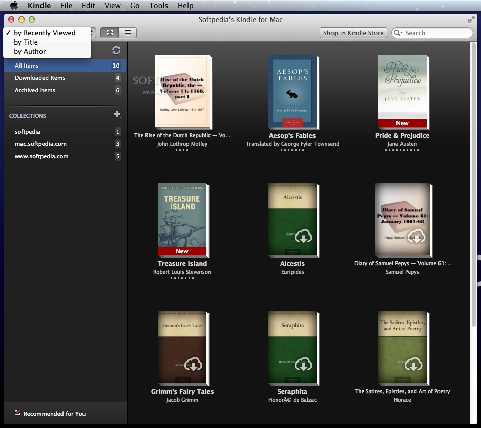 Kindle for Mac 1 26 1 - Download