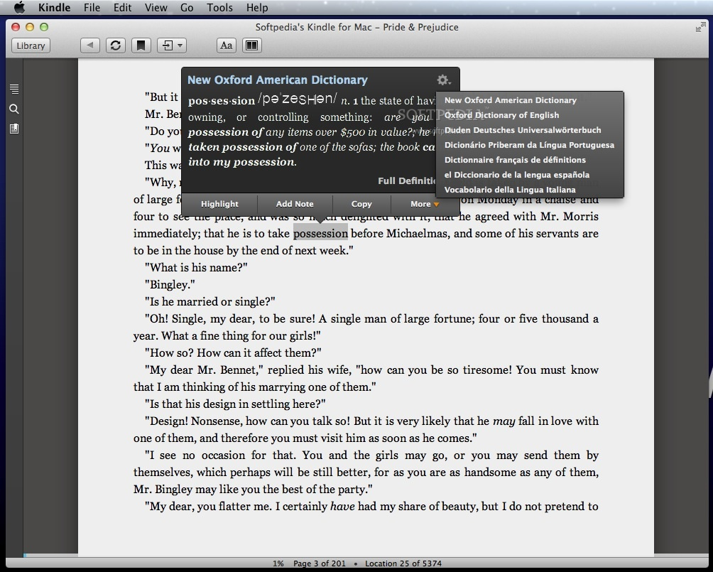 Kindle for mac os 10.10