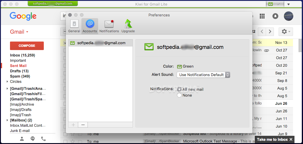 how to send screenshot in gmail