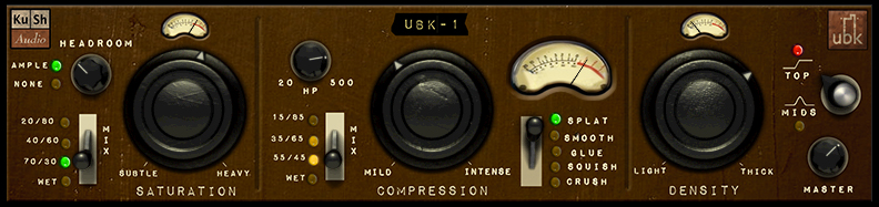 Kush Audio UBK-1 screenshot 1