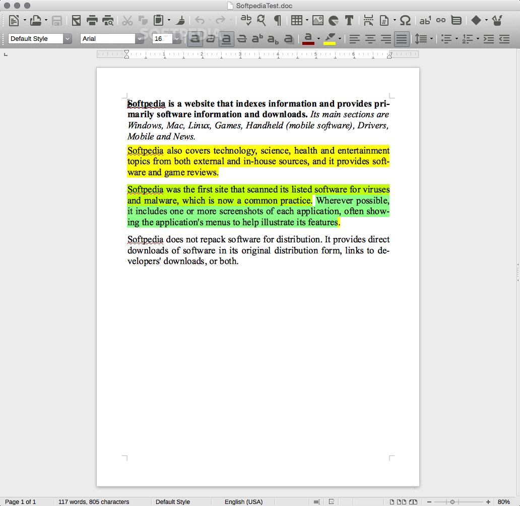 LibreOffice Mac 6 3 0 4 Fresh / 6 2 5 2 Still - Download