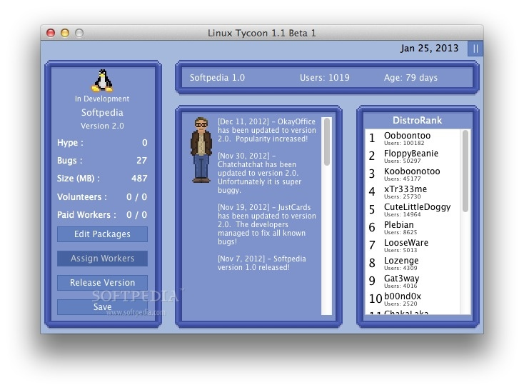 Linux Tycoon screenshot 2