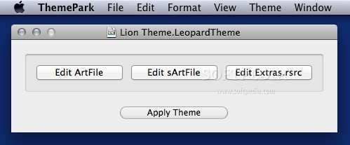 Lion Theme for Snow Leopard screenshot 1