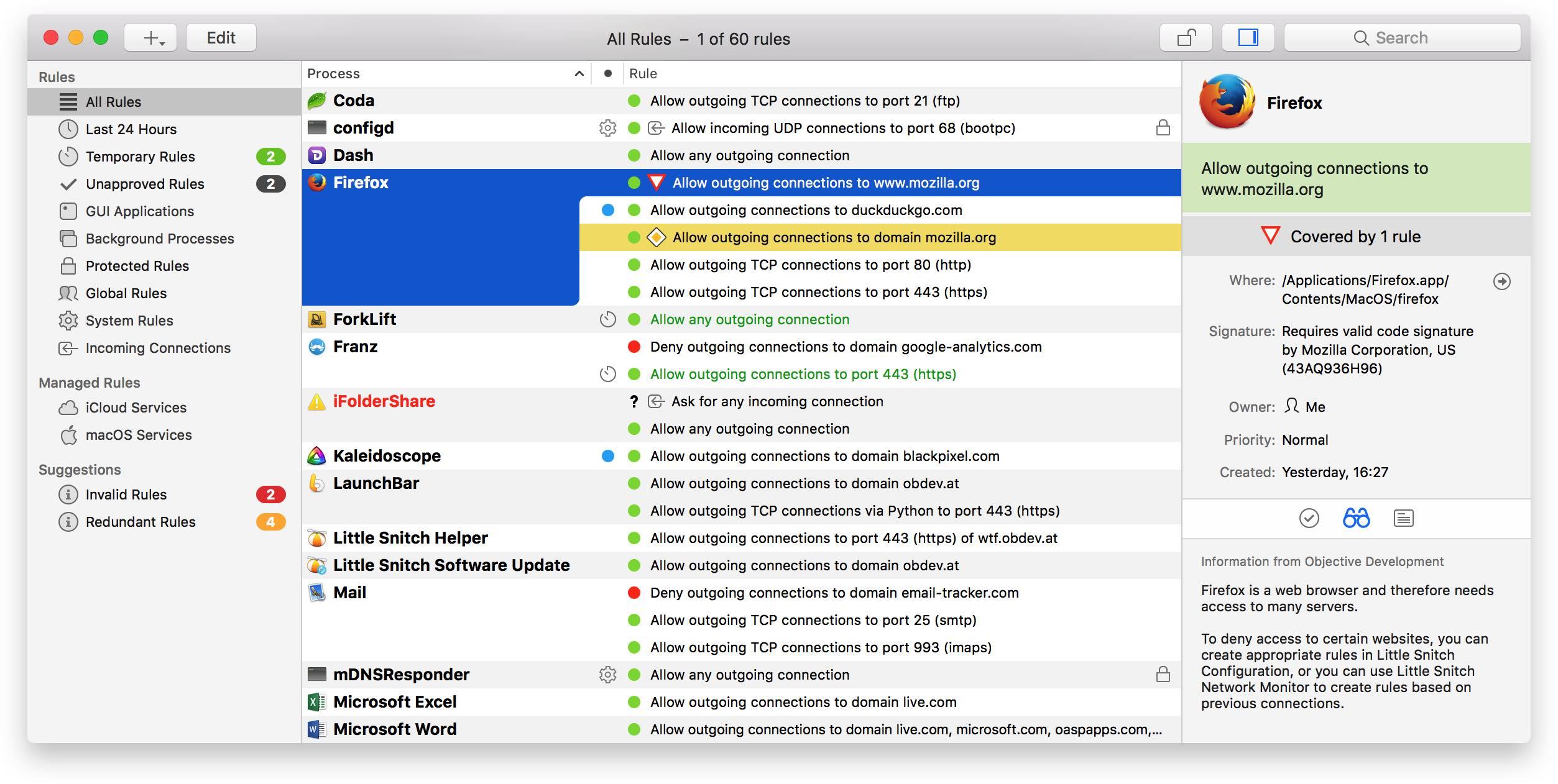 Little Snitch 4.2 4 Mac