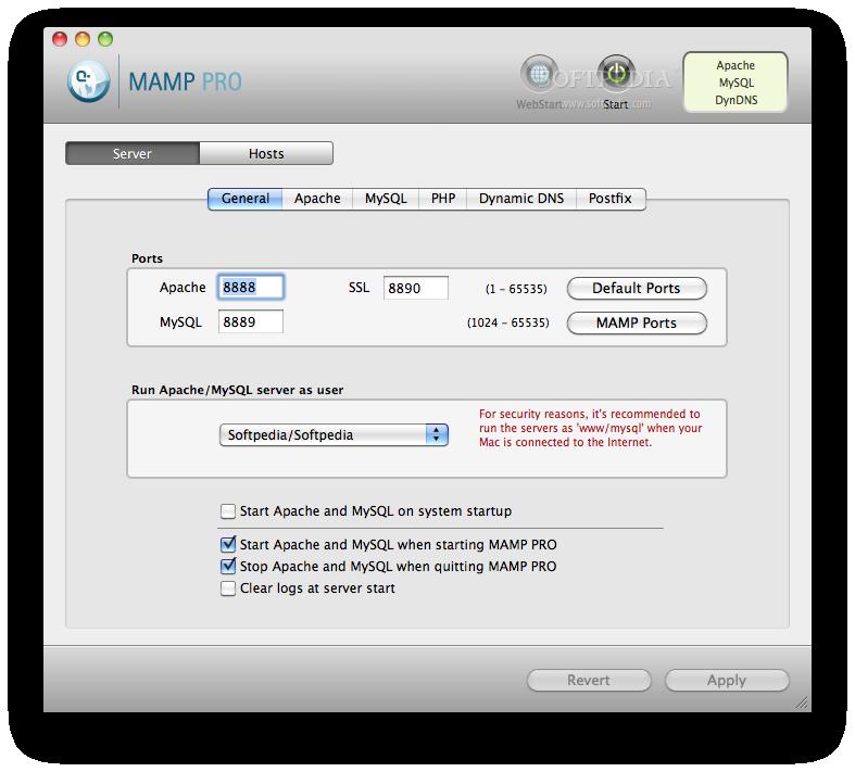 MAMP Pro Mac 5 1 - Download