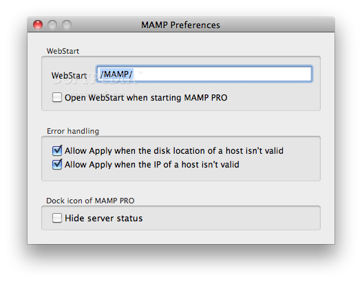 MAMP Pro Mac 5 1 - Download