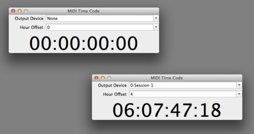 MIDI Time Code screenshot 1
