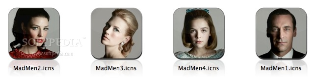 Mad Men TV Icon Set Flurry I screenshot 1