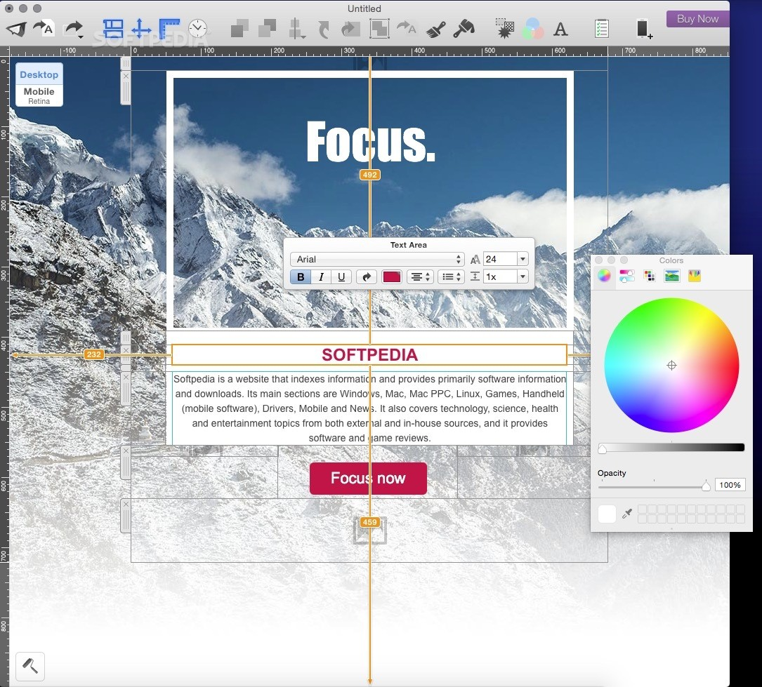 Mail Designer 365 By Accessing The Main Window Of Lication