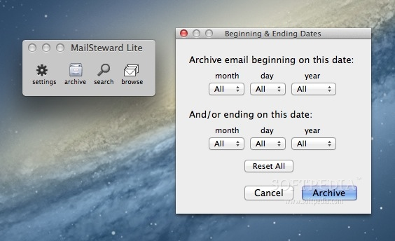 MailSteward Lite screenshot 1