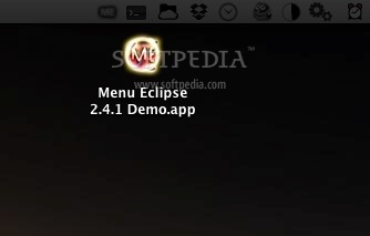 Menu Eclipse screenshot 1