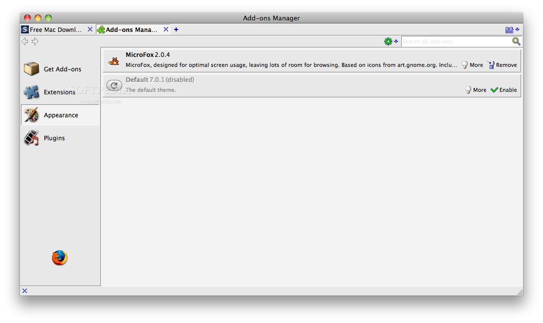 MicroFox screenshot 2