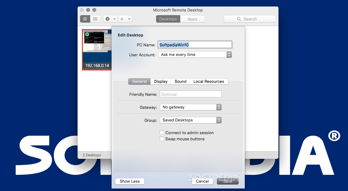 Microsoft Remote Desktop Mac 10 3 1 - Download