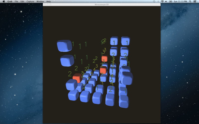 Minesweeper 3D screenshot 1
