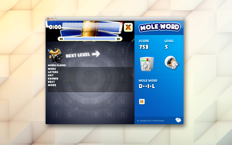 Mole word screenshot 4