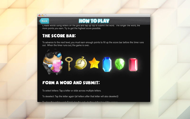 Mole word screenshot 5