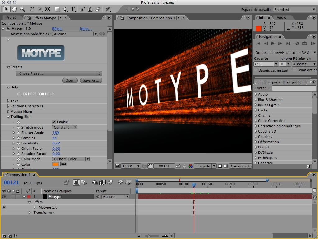 Motype screenshot 1