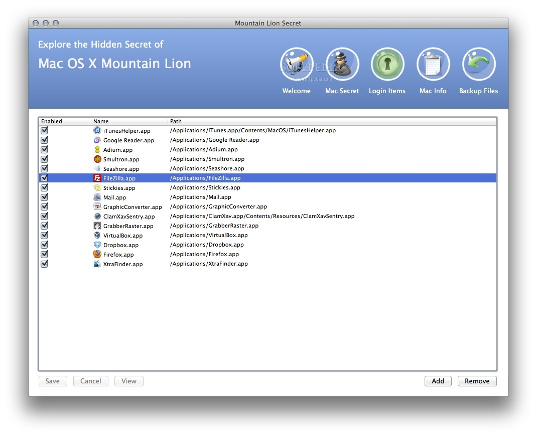 Mountain Lion Secret screenshot 4