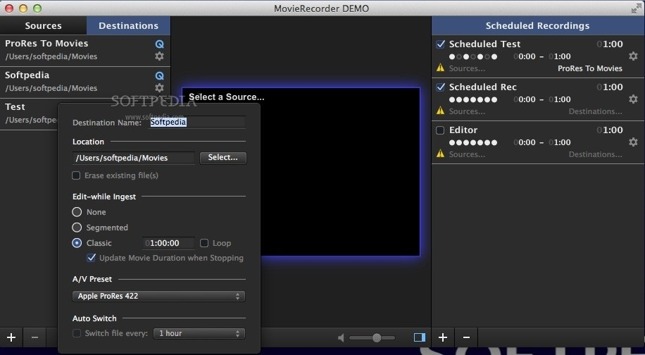 MovieRecorder screenshot 4
