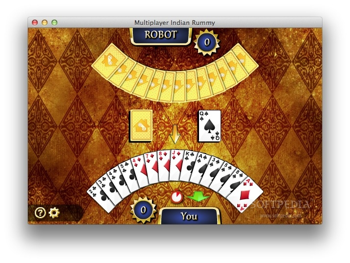 Multiplayer Indian Rummy screenshot 1