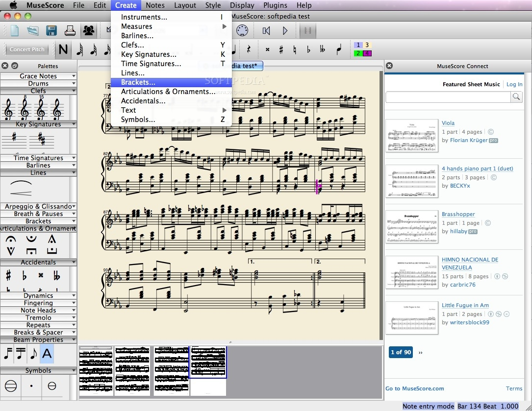 MuseScore Mac 3 0 5 - Download