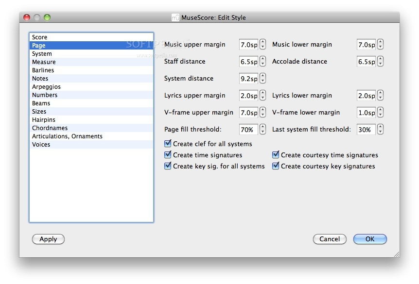 MuseScore Mac 3 0 5 - Download