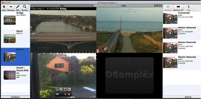 IP Camera Viewer Mac 7 32 - Download