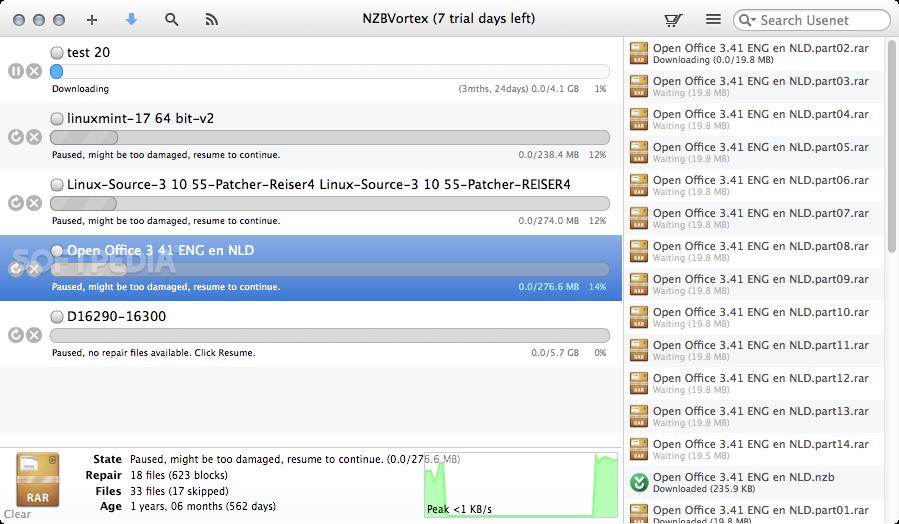 NZBVortex Mac 3 4 3 - Download