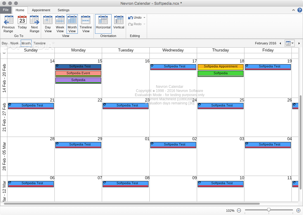 how to set up outlook calendar on mac