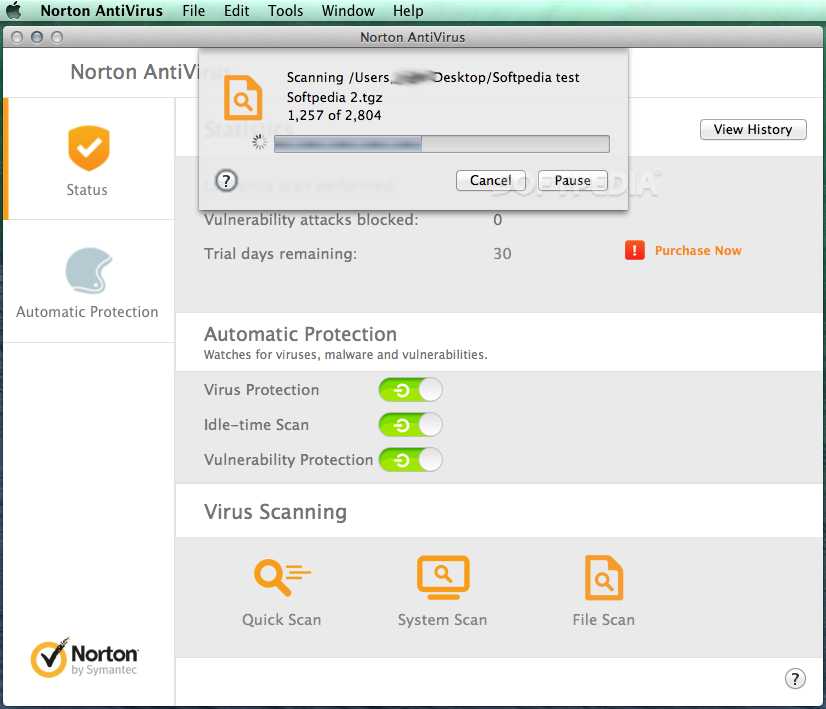 Norton AntiVirus Mac 12 8 - Download