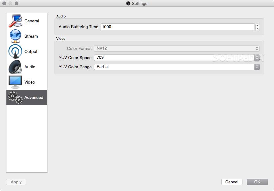 OBS Studio Mac 23 2 1 - Download
