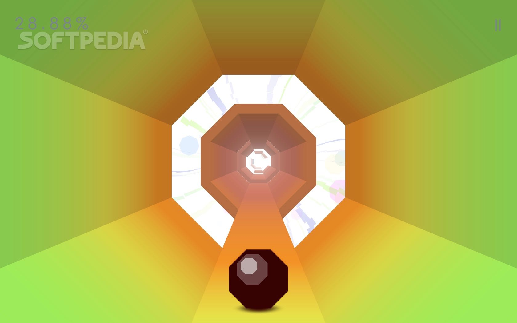 Race to the End in Octagon move fast or be left behind! Download the minimal arcade game for your iPhone iPad iPod Touch or Mac