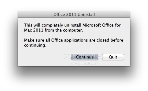 mac uninstall office 2011