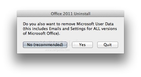 how to uninstall microsoft office 2011 on mac