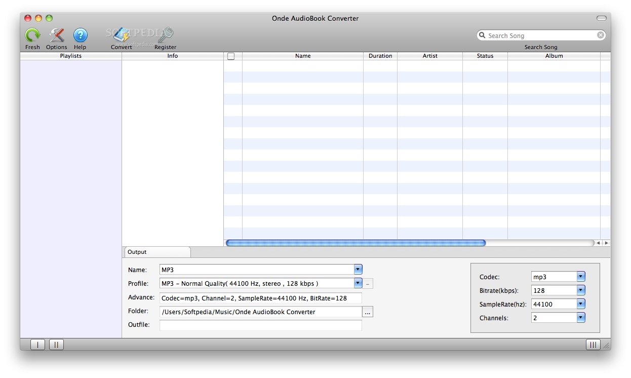 Onde AudioBook Converter screenshot 5