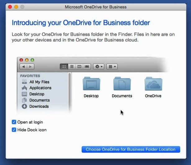 onedrive for business mac app download
