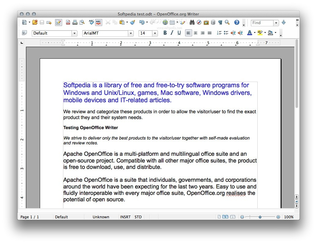 openoffice for mac os x 105 8 download