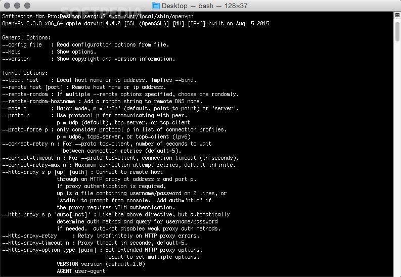 OpenVPN Mac 2 4 7 - Download