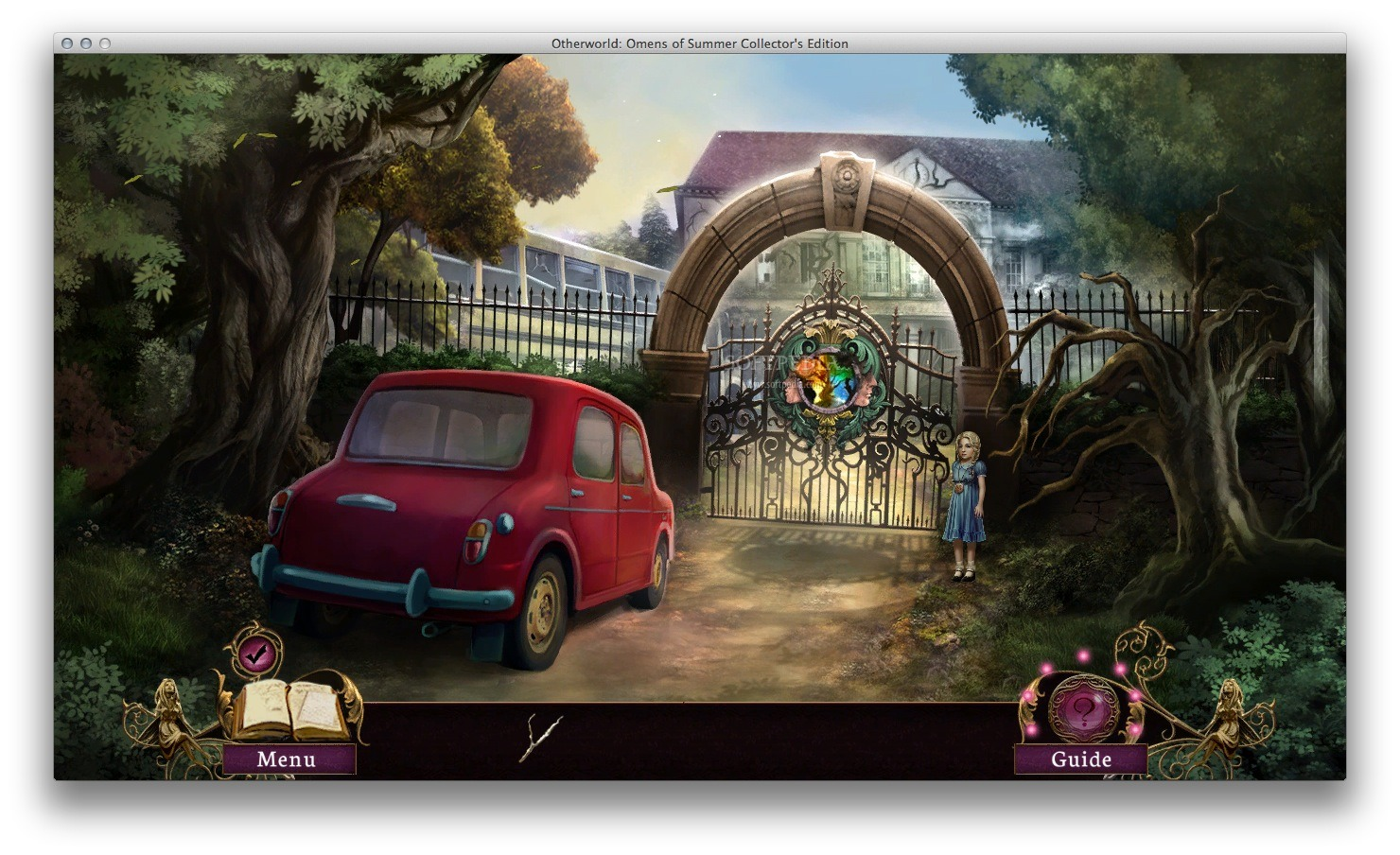 Otherworld: Omens of Summer CE screenshot 1 - In the main window you must explore your surroundings.