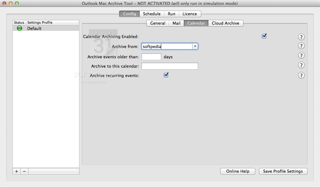 Outlook Mac Archive Tool 1 0 24 Build 7729 - Download