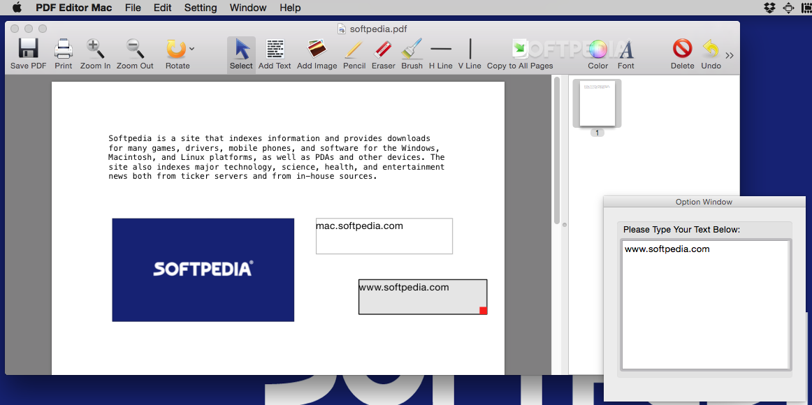PDF Editor Mac 3 5 8 - Download
