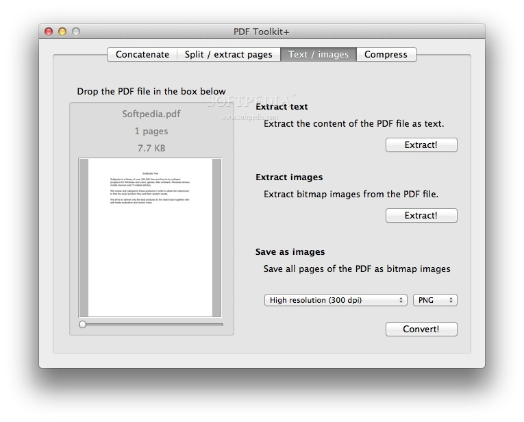 PDF Toolkit + screenshot 3