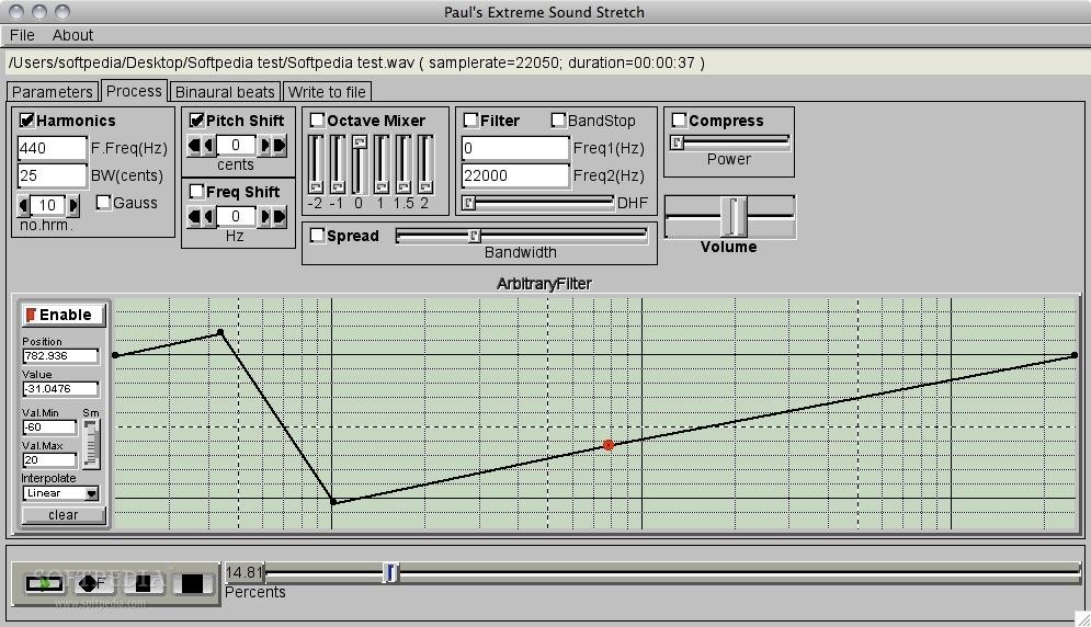PaulStretch Mac 2 2-2 - Download
